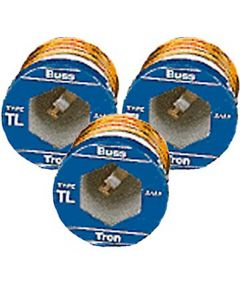 15 Amp Time Delay Plug Fuses 3 Count