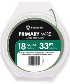 18/16 AWG 33 ft. Green Stranded Primary Auto Wire