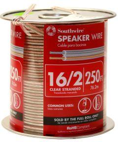 16/2 Clear Speaker Wire (Sold Per Foot)