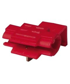 22-18 AWG Red Tap Splices 5 Count