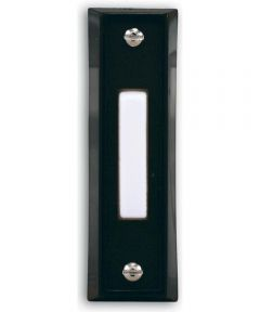 Black Wired Doorbell