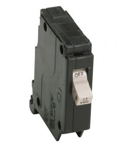 15 Amp Cutler Hammer Single Pole Circuit Breaker