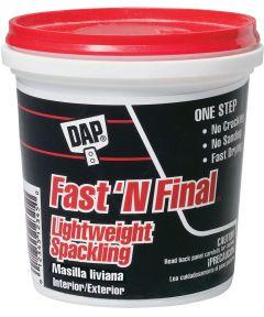 1/2 Pint Fast'N Final Spackling Interior & Exterior