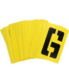 6 in. Letter and Number Stencil Pack