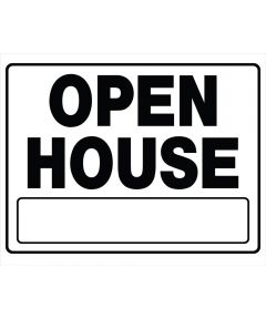 Open House Sign With Frame 20 in. x 24 in.