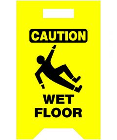 Caution Wet Floor Safety Floor Sign