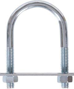 Zinc U-bolt Round Saddle 5/16 in. x 3-3/4 in. x 1-3/8 in.