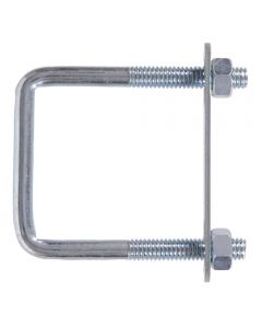Zinc Square-bolt Square Saddle 5/16-18 X 5 in. X 2 in.
