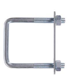Zinc Square-bolt Square Saddle 3/8-16 X 5 in. X 4 in.