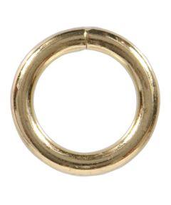 Welded Rings Brass 0.262 in. x 2-1/2 in.