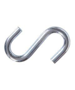 Zinc S-hooks 0.307 in. x 3 in.