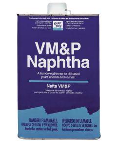 Klean-Strip VM&P Naphtha, 1 qt Metal Can, Transparent, Liquid