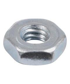 Zinc Machine Screw Hex Nut (#10-24)