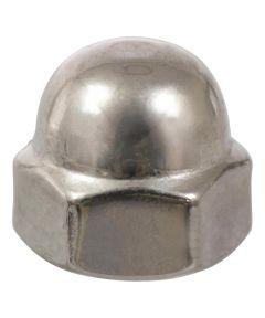 Stainless Steel Acorn Nut (#10-24)