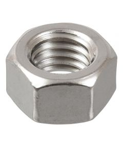 Stainless Steel Metric Hex Nut (M6-1.00)