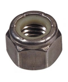 Stainless Steel Metric Stop Nut (M3-0.50)