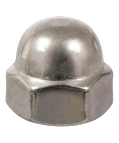 Stainless Steel Metric Acorn Nut (M6-1.00)