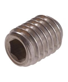 Metric Stainless Steel Socket Set Screw (M6-1.00 x 12mm)