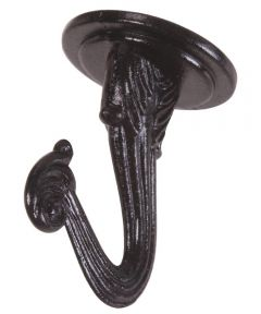 Black Swag Hook, 2 Pieces