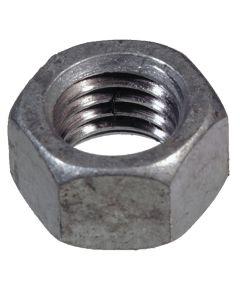 Coarse Galvanized Hex Nuts 1/2-13