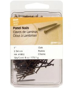 Oak Panel Nails 1 in., 6 oz.