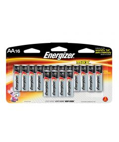 Energizer Max AA Alkaline Battery, 16 Pack