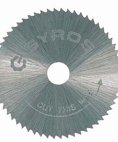 3/4 in. Fine Tooth Gyros Steel Saw Blade