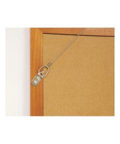 Large Zinc D-Ring Hangers