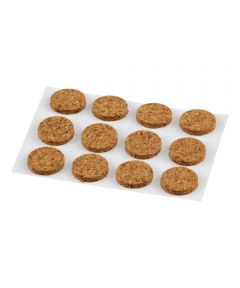 Cork Protective Frame Pads, 12 Pieces