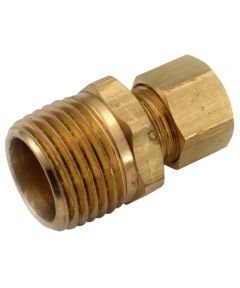 1/4 in. x 1/8 in. Brass Lead Free Compression Coupling
