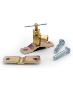 1/4 in. Brass Lead Free Saddle Valve Assembly