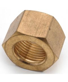 3/8 in. Brass Lead Free Compression Nut 3 Count