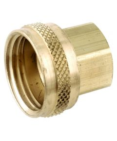 3/4 in. x 1/2 in. Brass Lead Free Garden Hose Swivel Fitting