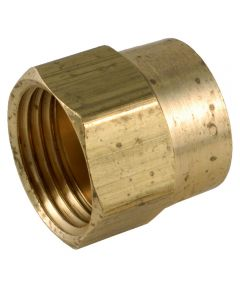 3/4 in. x 3/4 in. Brass Lead Free Garden Hose Connector