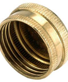3/4 in. Brass Lead Free Garden Hose Cap