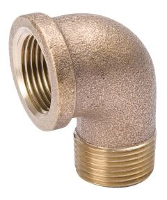 1/2 in. Red Brass MXFPT Street Elbow Pipe