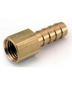 3/8 in. x 3/8 in. Female Brass Lead Free Hose Barb