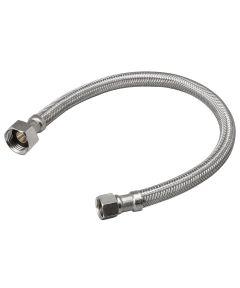 3/8 in.C x 1/2 in.Fip x 20 in. Faucet Connector