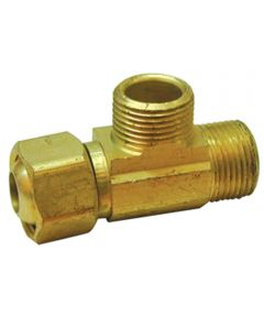 Low Lead Supply Stop Extender Tee 3/8 in. x 3/8 in. x 3/8 in.