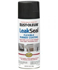 LeakSeal, 12 oz Spray Paint, Black