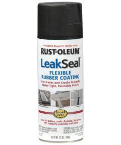 LeakSeal, 12 oz Spray Paint, Black