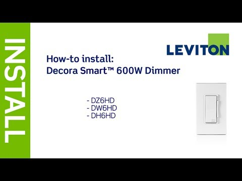 Leviton Decora 600 Watt Smart Light Dimmer with Apple HomeKit Technology with Wallplate