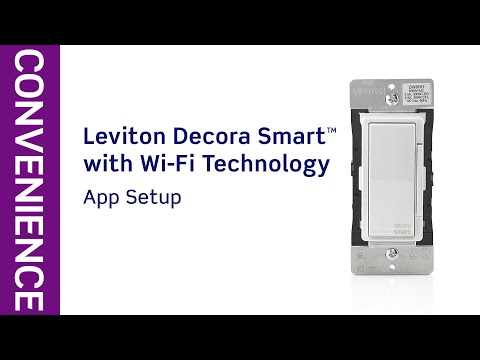 Leviton Decora 15 Amp Smart Wifi Universal LED / Incandescent Switch with Wallplate