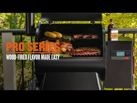 Pro Series 780 Smart Pellet Grill and Smoker with WiFIRE Wifi Technology, Black