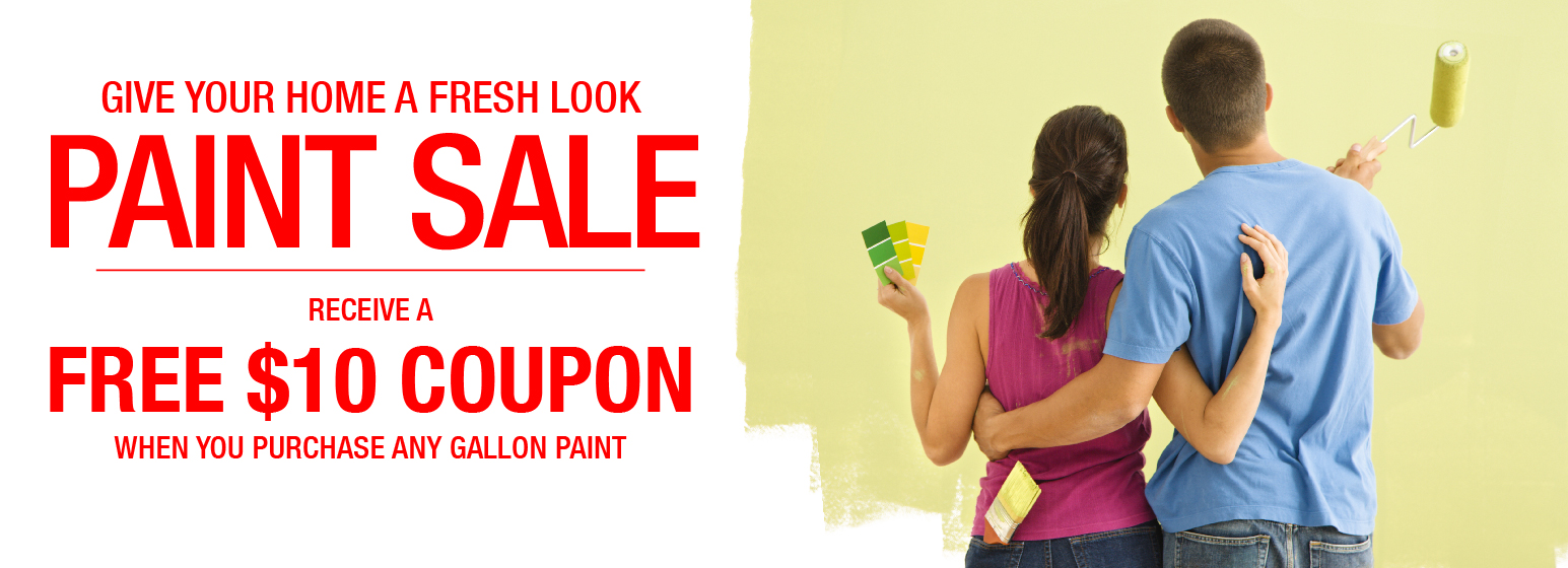 City Mill Paint Sale Free $10 Coupon
