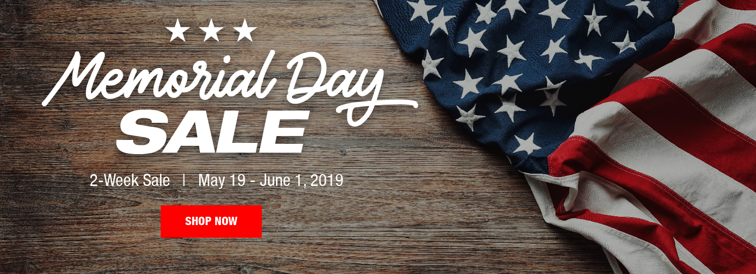 City Mill Memorial Day Sale
