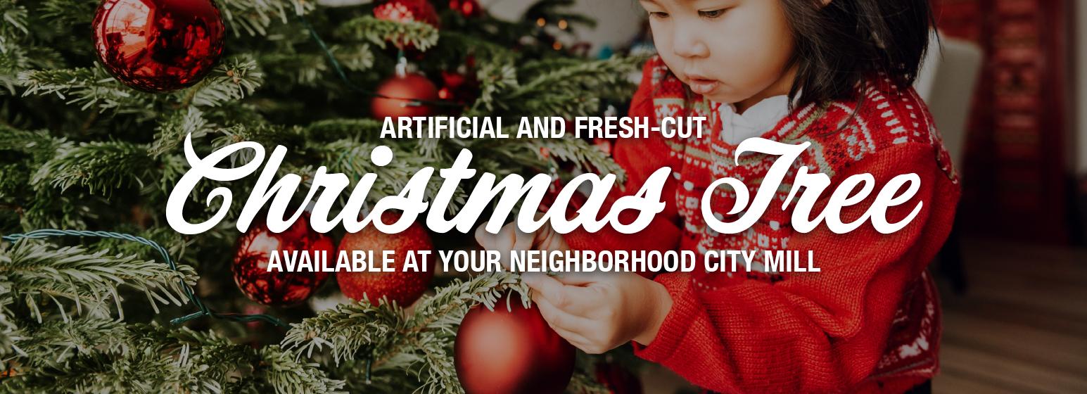 City Mill Christmas Tree Sale