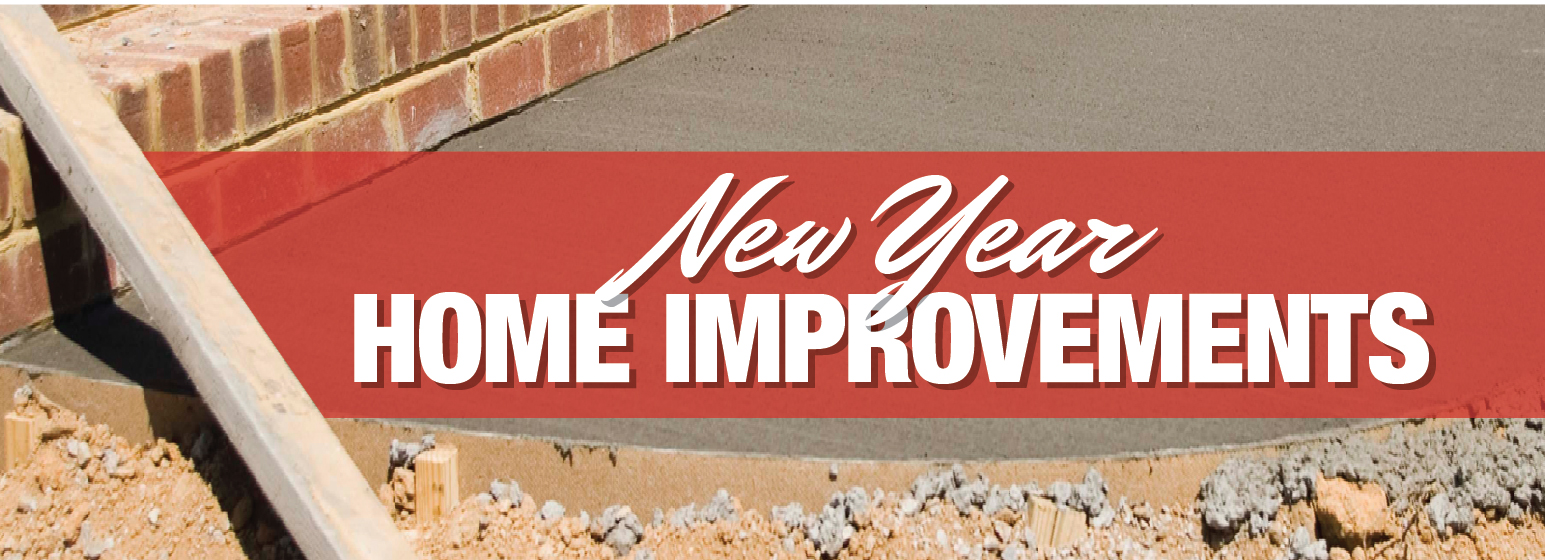 New Year Home Improvements