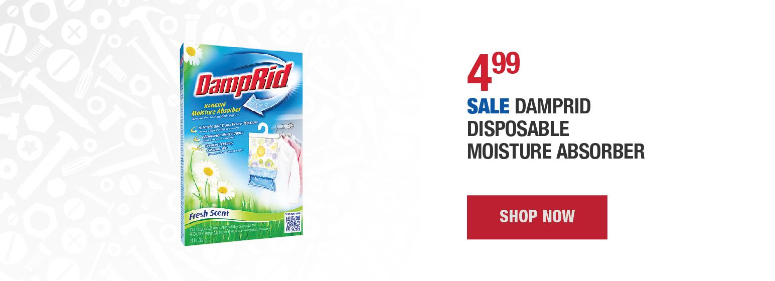 Sale DampRid Disposable Moisture Absorber