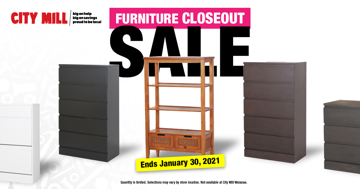 City Mill Clearance Furniture